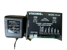 New listing Viking Model Pa-2A Paging Loud Amplifier System