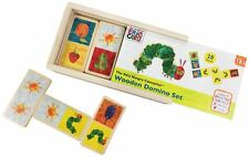 Rainbow Designs THE VERY HUNGRY CATERPILLAR WOODEN DOMINOES Baby Toys BN