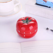 TOMATO POMODORO Mechanical Kitchen Timer Game Count Down Counter Alarm Cooking