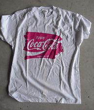 1990s Enjoy Coca Cola Coke White Tee Shirt Size Xl Never Worn