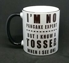 New rude funny tosser-cunt cheeky mug I know a tosser free gift box coffee cup