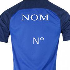 Flocage NOM + Numéro equipe de France de Football PAVARD 2 - Très haute qualité