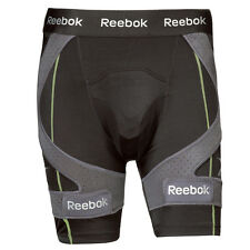 Reebok 11K hockey compression shorts senior mens size XL black new jock men sr