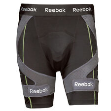 Reebok 11K hockey compression shorts senior mens size XL black new jock men sr
