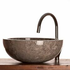 Grey Marble Stone Basin 40 cm (wa002) for Bathrooms.