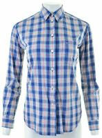 JACK WILLS Womens Shirt UK 8 Small Multicoloured Check Cotton  GE20