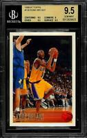 1996-1997 Topps Kobe Bryant NBA Rookie Card RC 138 BGS 9.5 GEM MINT
