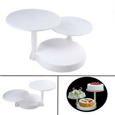 New Style 3 Tier Stylish Round Cake Rack Display Cake Stand Home Party Wedding