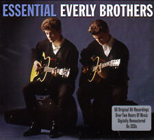 THE EVERLY BROTHERS - ESSENTIAL - 50 ORIGINAL HITS RECORDINGS (NEW SEALED 2CD)