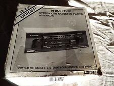 Vintage Stereo Car Cassette Player, with radio CZ-100V, new in box