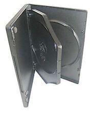 200 x 3 VIE 14 mm DVD Nero Spina Dorsale contiene 3 DISCHI VUOTI NUOVI sostituzione caso HQ AAA
