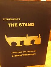 STEPHEN KING THE STAND PORTFOLIO LIMITED EDITION SIGNED BY BERNIE WRIGHTSON #87
