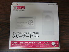 Nintendo DS 3DS cleaner set for console and soft ,ds 3ds XL New GBA  From Japan