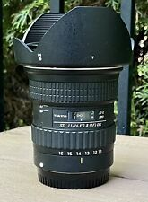 EXCELLENT Tokina 11-16 mm F2.8 AT-XPro DX for Canon DSLR