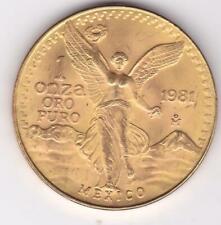 1981 MEXICO GOLD 1 ONZA LIBERTAD