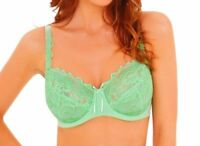 Clearance........Lepel Fiore 93229 Full Cup Bra Summer Green 30-38 D-G Cup