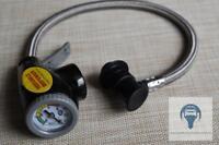 Druckmanometer Füllmanometer Klimaanlagen R134a für Eigentumsflasche SAE 5/16