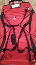 Wilson Wheeled Rolling Padded Golf Athletic Gear red Travel Golf Bag Case