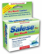 Salese Wintergreen Lozenges Dry Mouth Formulation