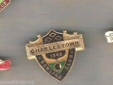 LAWN BOWLING CLUB BADGE - CHARLESTOWN