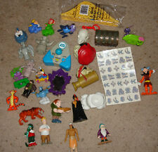 Lot of 30 Disney toys including 1 NIB and sheet of pirates of  caribean tattos