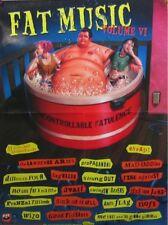 FAT MUSIC VOL. VI POSTER (Z7)