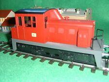 Spur 0 Lok 7182 rot von RIVAROSSI -unbespielt- aus Nachlass-in OVP-geöffnet