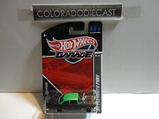 Hot Wheels  Garage Black '57 Plymouth Fury w/Real Riders
