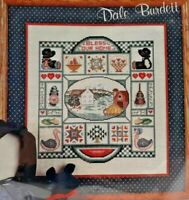 1987 NIP Counted Cross Stitch Embroidery Kit Lancaster County Sampler Amish 7550