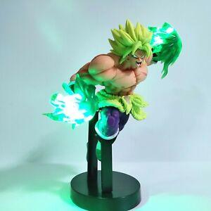 Figurine LED PVC Anime Dragon ball Z BROLY Super saiyan - Jouet de Collection