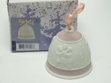 Lladro Christmas 1996 Collectors Porcelain Bell with Original Box