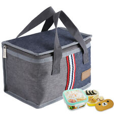 Picnic Lunch Thermal Insulated Hand Bag Ice Cooler Box Storage Tote Portable HG