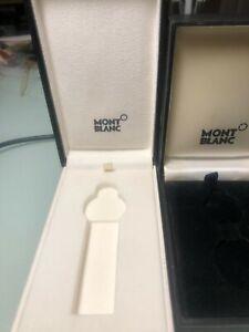 2 MONTBLANC WALKER KEY RING BOXES
