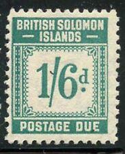 Solomon Is 1940 Postage Due set Sc# J1-8 mint