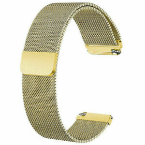 For Fitbit Versa Milanese Mesh Magnetic Loop Strap Stainless Steel Wrist Band