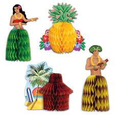 HAWAIIAN LUAU TROPICAL PARTY SUPPLIES MINI CENTREPIECE DECORATIONS
