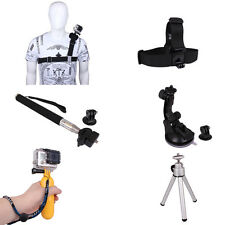 Accessories Floating Grip+Suction Cup+Shoulder Strap  For GoPro Hero 1 2 3 3+ 4