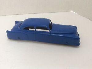 1950 /60 5 1/2-Inch Tootsietoy Blue Pontiac Car Cast Metal Rubber Wheels  U.S.A