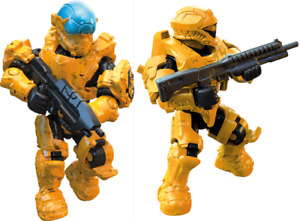 NEW DAWN RECON & SPARTAN VECTOR Figures From MEGA HALO Fireteam Castle FMM86