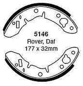 MG MIDGET 1.3 1965-1974 EBC REAR BRAKE SHOES 5146