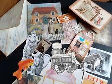 Vintage Ephemera gift Pack 20 Pcs Handmade ledger envelope Junk Journal Collage