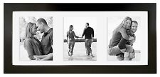 MCS 5-1/2 x 13 Wood Floating Picture Frame Black (Same Shipping Any Qty)