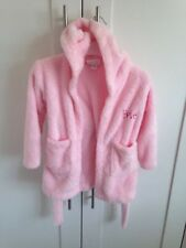 My First Years Personalised Dressing Gown - Pink - EVIE - Age 1-2 Years