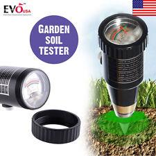 Portable Soil Water Moisture pH Tester Meter Pointer Display for Garden HS791