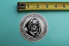 BIRDHOUSE Skateboards Team Skull Reaper Bones Tony Hawk Skateboarding STICKER