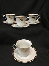 Montgomery Ward Cherubs Angel Pattern Cups and Saucers Beautiful 8 Piece
