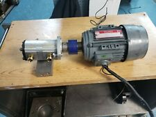 Hartridge Avm 20-12 Test Bench Fuel Pump Motor And Lube Supply Pump