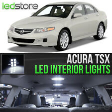 2004-2008 Acura TSX White LED Lights Interior Kit