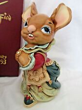 "Pendelfin ""Aunt Ruby - 40th Anniversary"" w/box Chalkware Made in England"