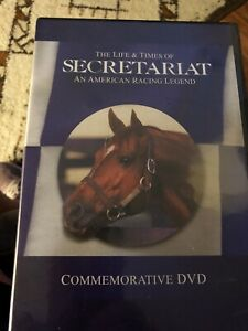 "THE ""LIFE & TIMES OF SECRETARIAT"" DVD  AN AMERICAN RACING LEGEND NWT  (Last Ones"